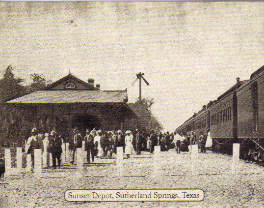 Sunset Depot, Sutherland Springs, Texas